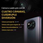 Smartphone Poco X3 PRO 128gb 6gb RAM – Phantom Black - Preto