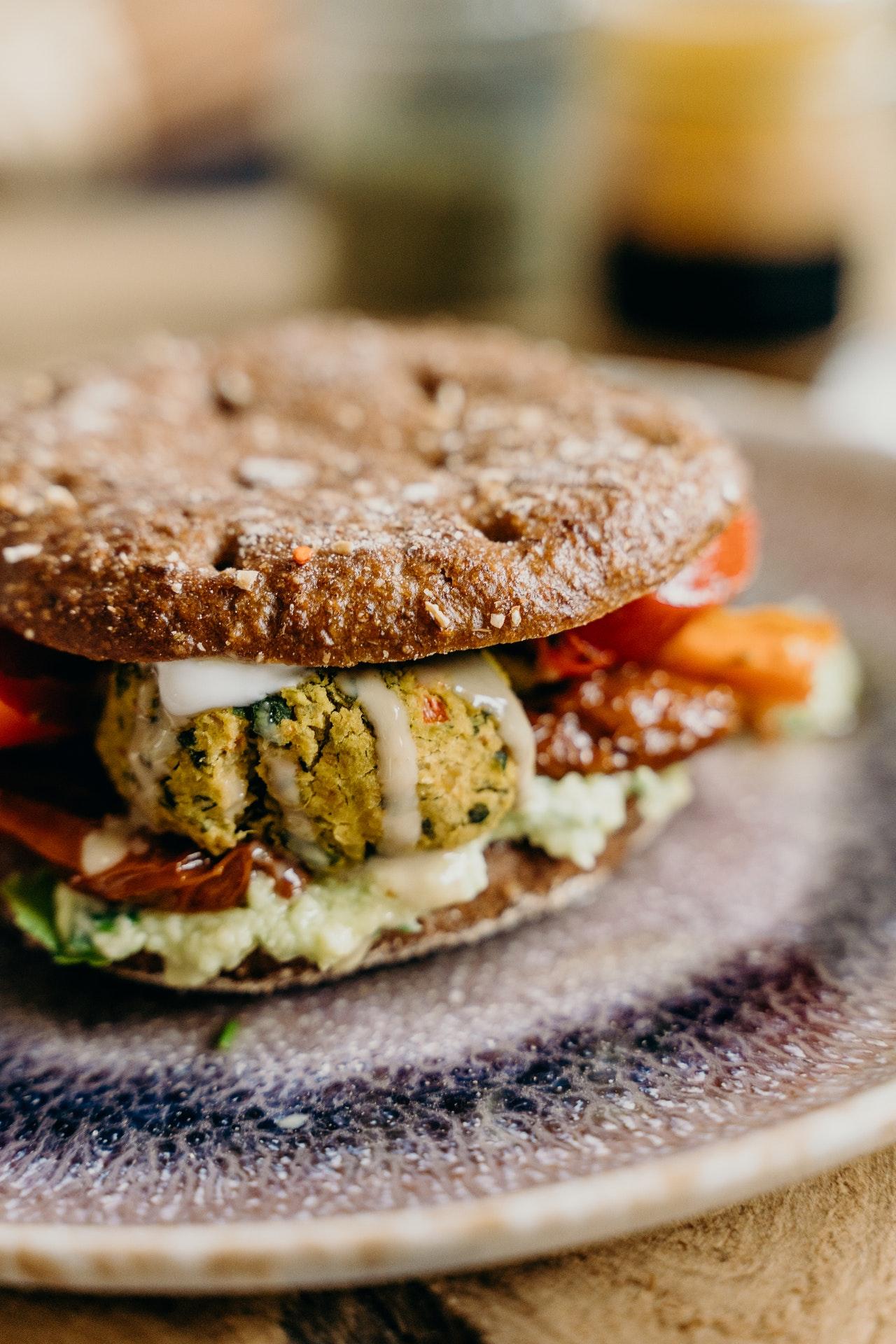 Hambúrguer Vegetariano Receita Grão De Bico Fácil De Fazer