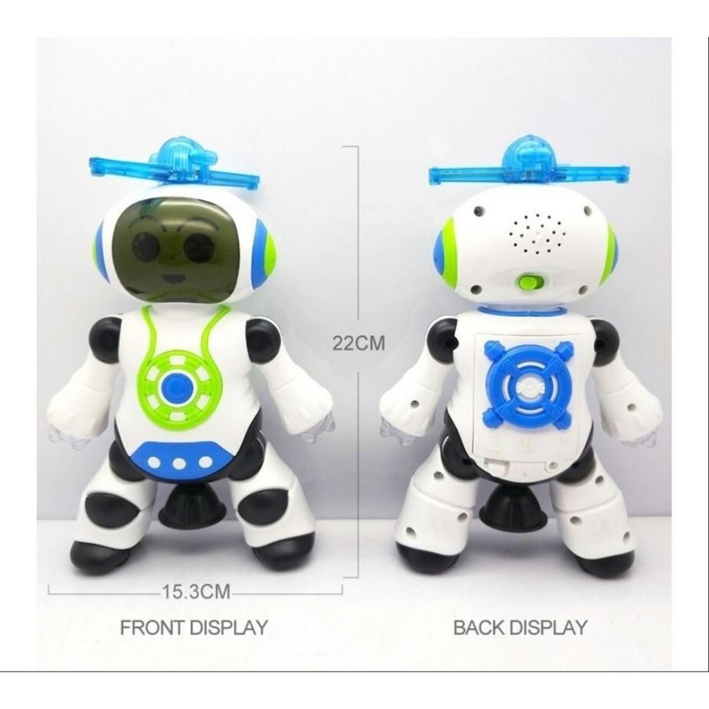 Ultra Robô Dançarino Robô Dancing Brinquedo Com Giros 360° Graus!