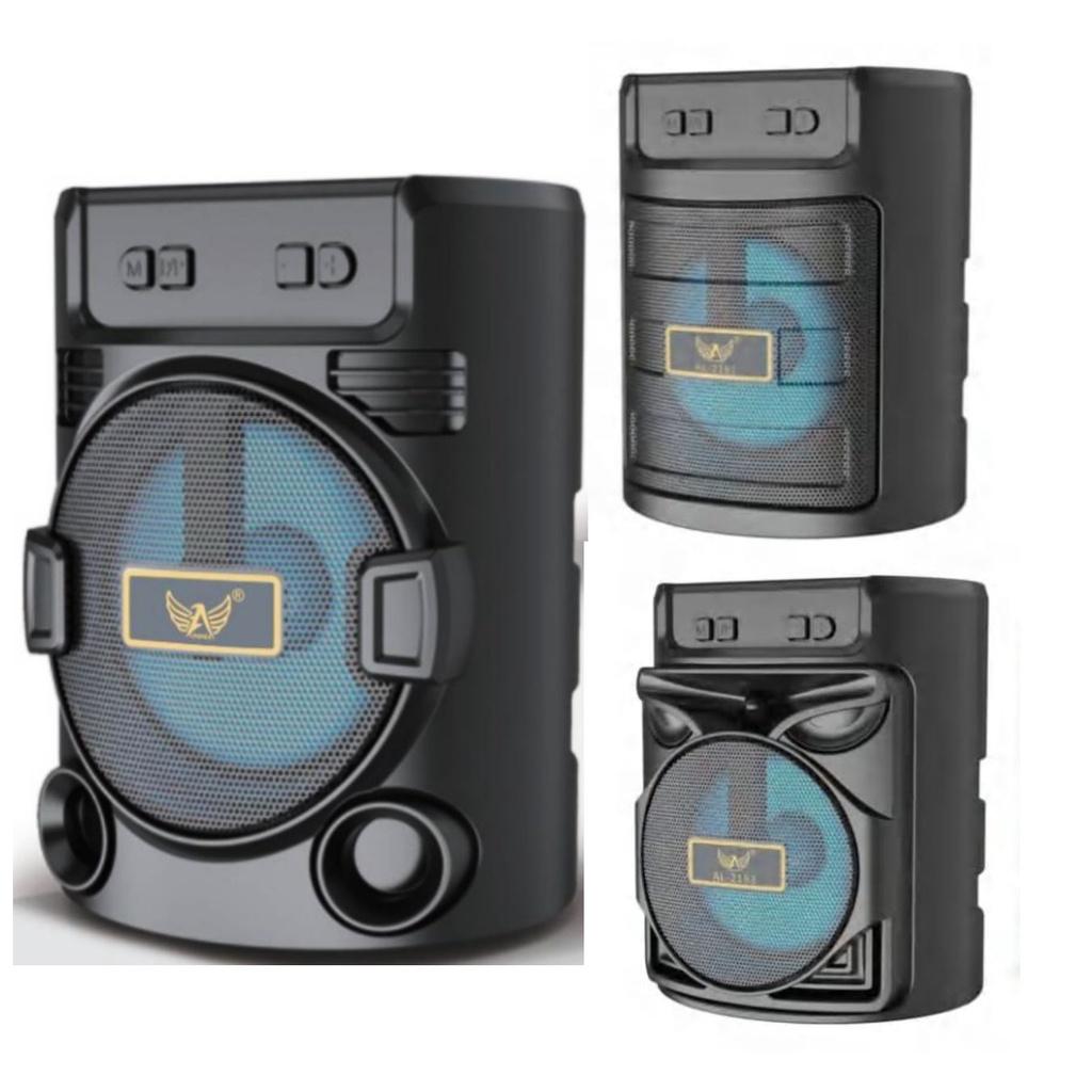Caixa de Som Bluetooth Portátil Altomex com cartão SD Rádio FM E Com Pen Drive!