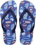 Amazon Chinelo Top Marvel Logomania, Havaianas, Adulto Unissex